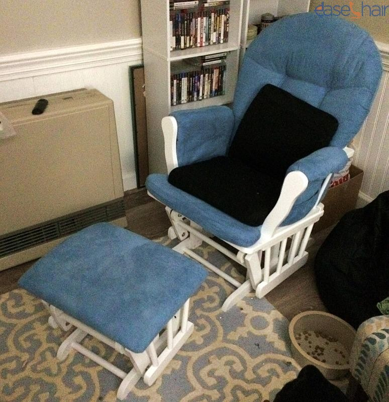 angel line windsor glider and ottoman.