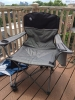 coleman oversized quad chair with cooler and cup