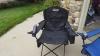 coleman quad chair with cooler vs oversized