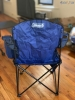 coleman camping oversized quad chair with cooler
