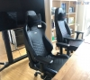 noblechairs icon real leather chair - black